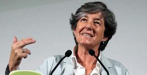 Bilbao 15-7-2012.-La candidata a lehendakari de EHBildu- Laura Minteg