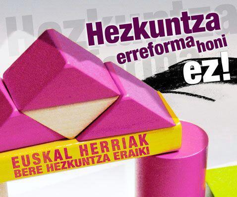 hezkuntza-erreformari-ez