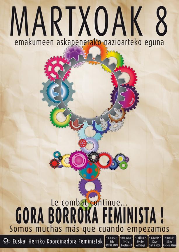 martxoak 8 koordinadora feminista